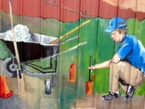 """William """"W"""" Mural"""
