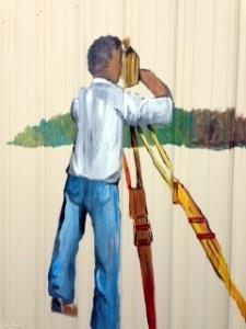 """Williams """"W"""" Mural"""