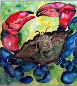 Huffmaster watercolor