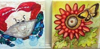 Huffmaster workshop watercolors