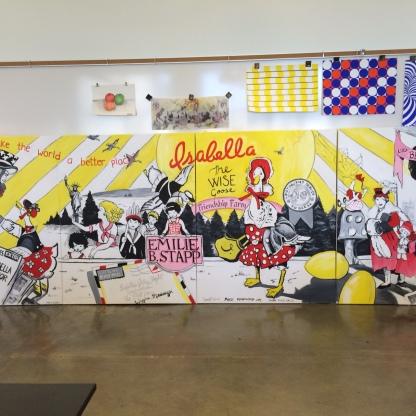 Emilie Stapp Mural
