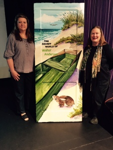 Artist Elizabeth Huffmaster donates