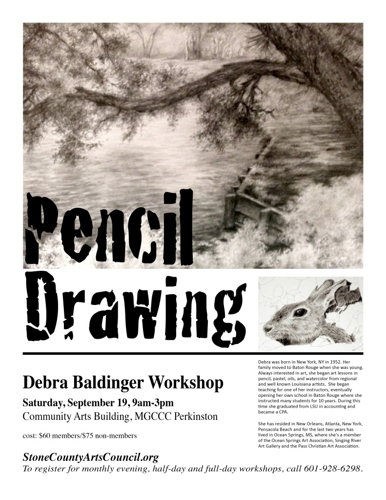 Pencil Drawing Workshop 9/19/2015