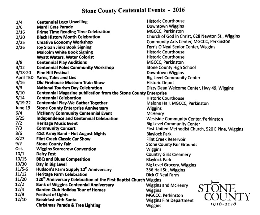 SC100 Events